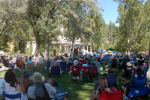 Bowers Bluegrass Festival, Saturday, August 13th, 9 am - 6 pm, Bowers Mansion in Washoe Valley