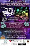 9th Annual Concert Under the Stars - The Family Stone - Weds, July 12th - at the Brewery Atts Center - To Benefit The Greenhouse Project in Carson City